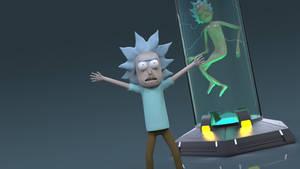 I'm Tiny Rick! by juzmental