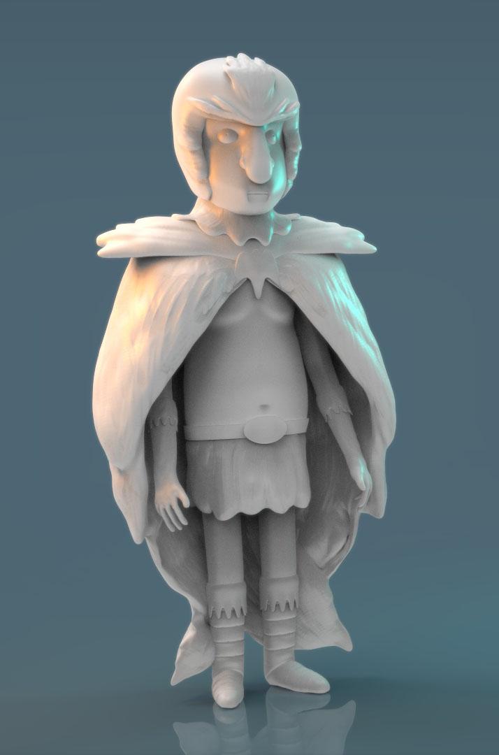 Birdperson - Not a lot to do now work-in-progress! by juzmental