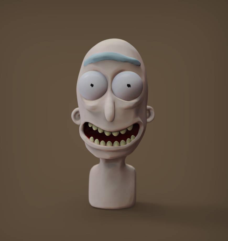 New new Rick again - in progress by juzmental