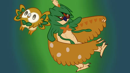 Rowlet Brother Experience by BurnoutBeat