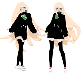 Mmd - Lavanda by OneWhoFeelLonely2