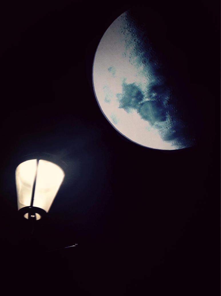 Moon bright by Thomaskellerman