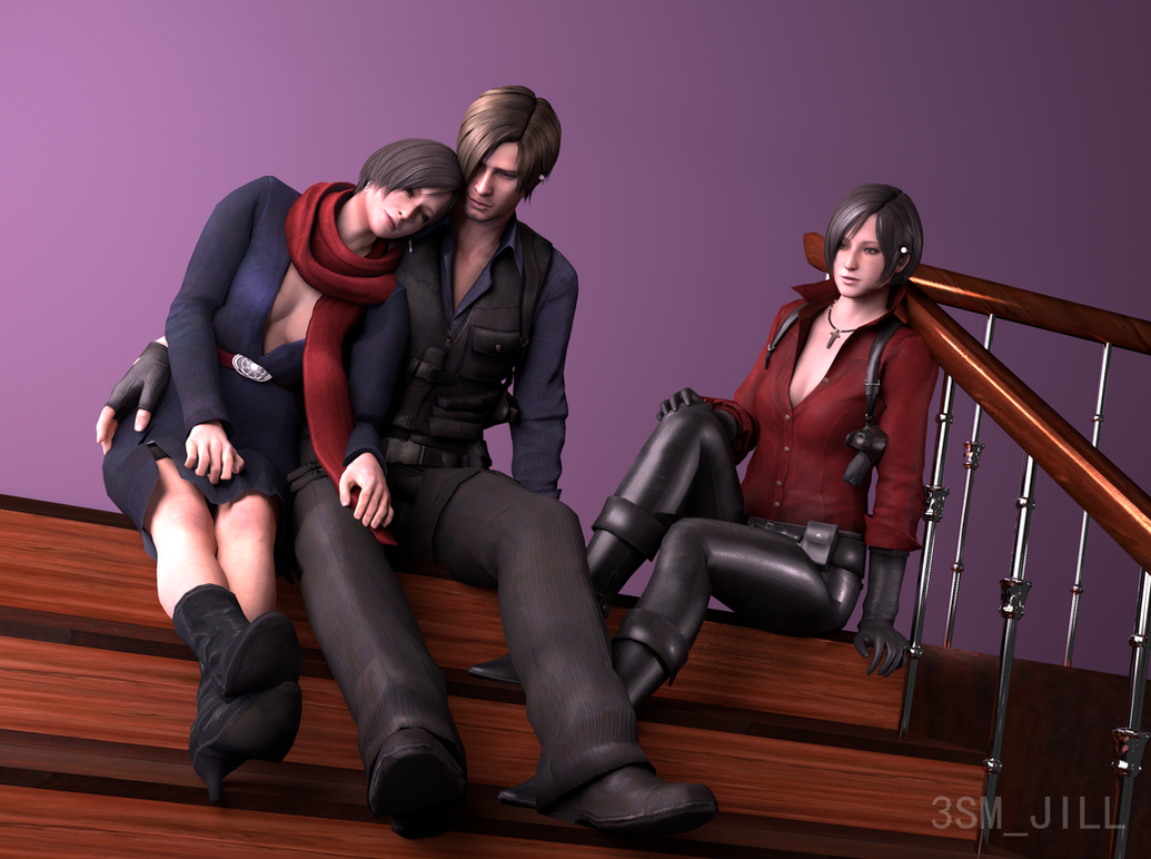 resident evil leon and ada relationship