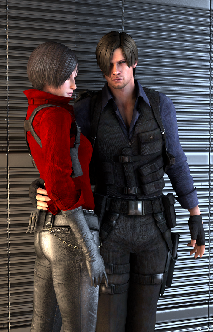 resident evil 6 leon and ada relationship poems