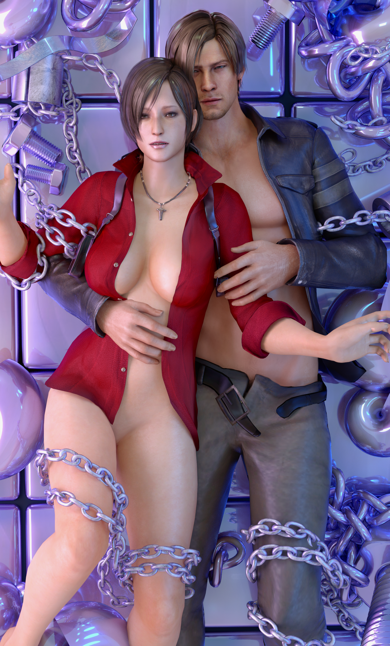 leon and ada relationship help