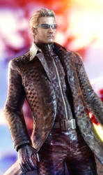 arrogance of Wesker by 3SMJILL