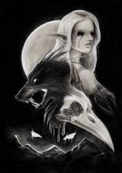 Children of The Dark by littlevillagewolf