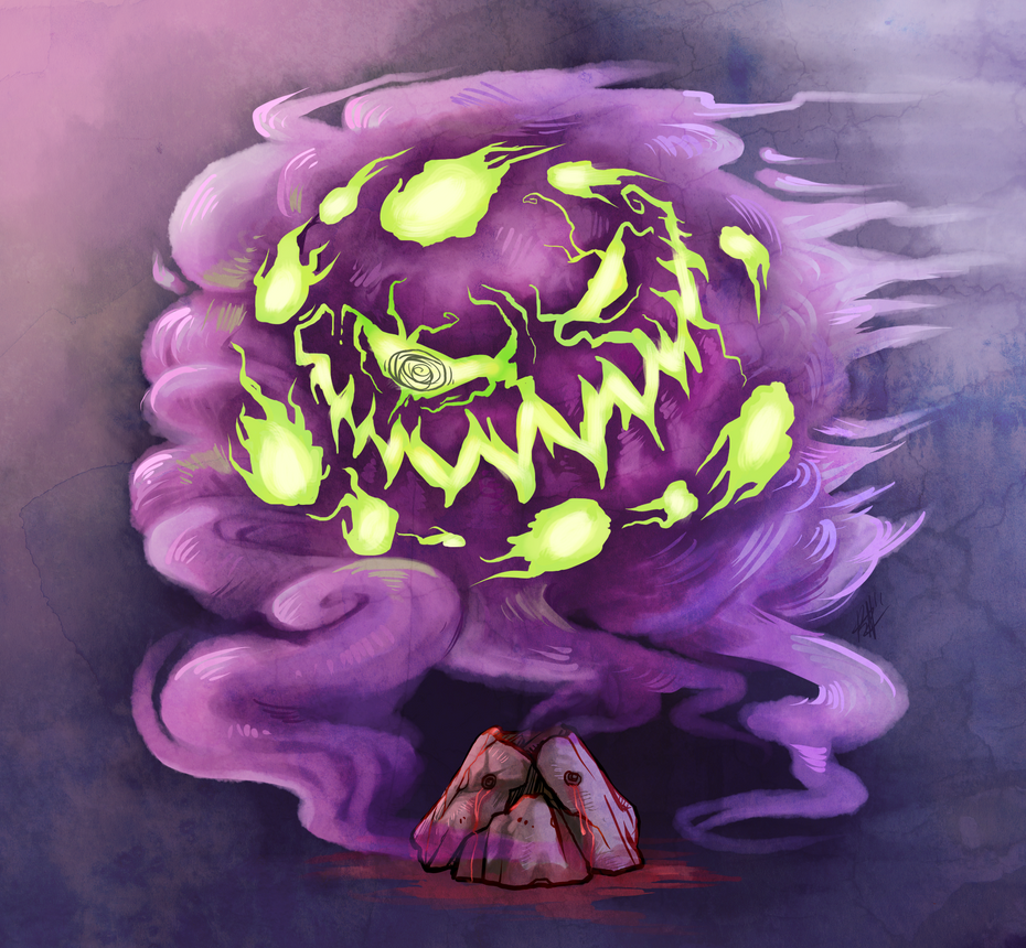 Spiritomb by Chewy-Meowth