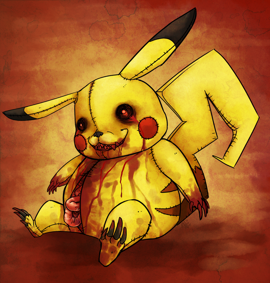 Pikachu Doll Z by Chewy-Meowth