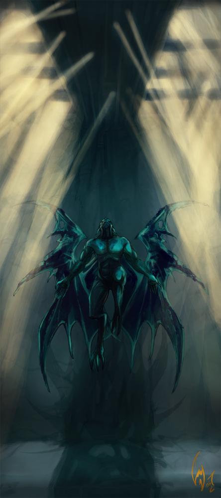 Gargoyle by canetiskol