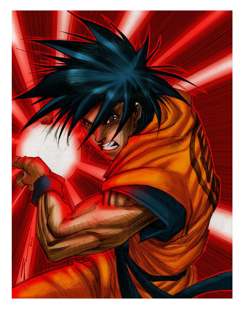 Goku by filios-jarp