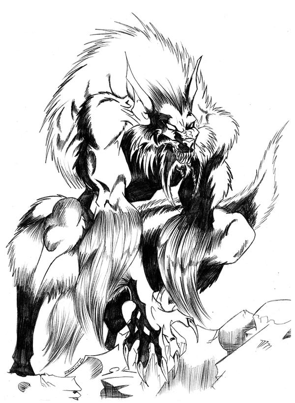hombre lobo by filiosjarp on DeviantArt