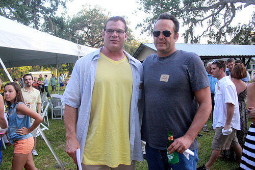 Kane and Vince Vaughn by hopeless-romance45