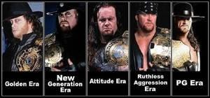 Undertaker Eras