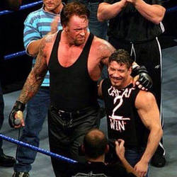 Undertaker and Eddie Guerrero by hopeless-romance45
