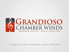 Logo - Grandioso Chamber Winds by AreoX