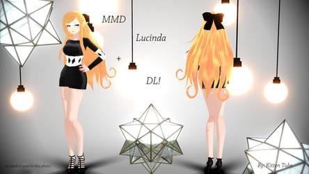 MMD Lucinda + DL by CurryKitten