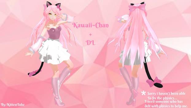 Kawaii~Chan +Dl [MMD]