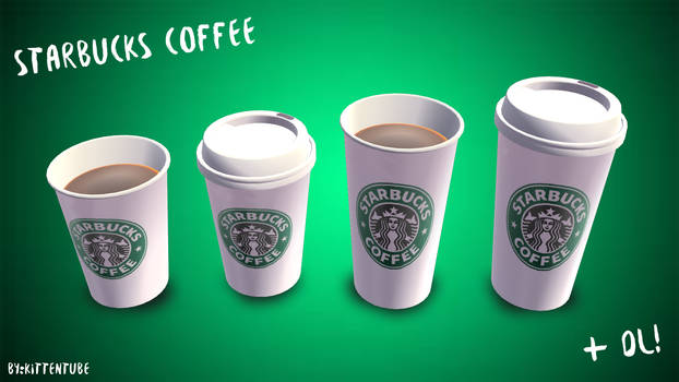 [MMD] Starbucks Coffee + DL