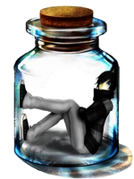 -Zane In A Bottle- by CurryKitten