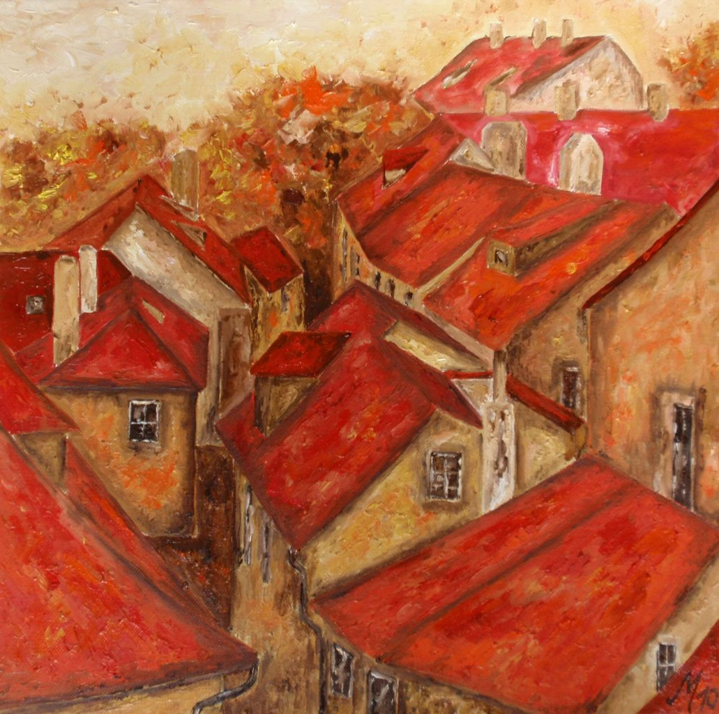 Red roofs .... by MC-blue