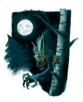 Wolfie by Anubish