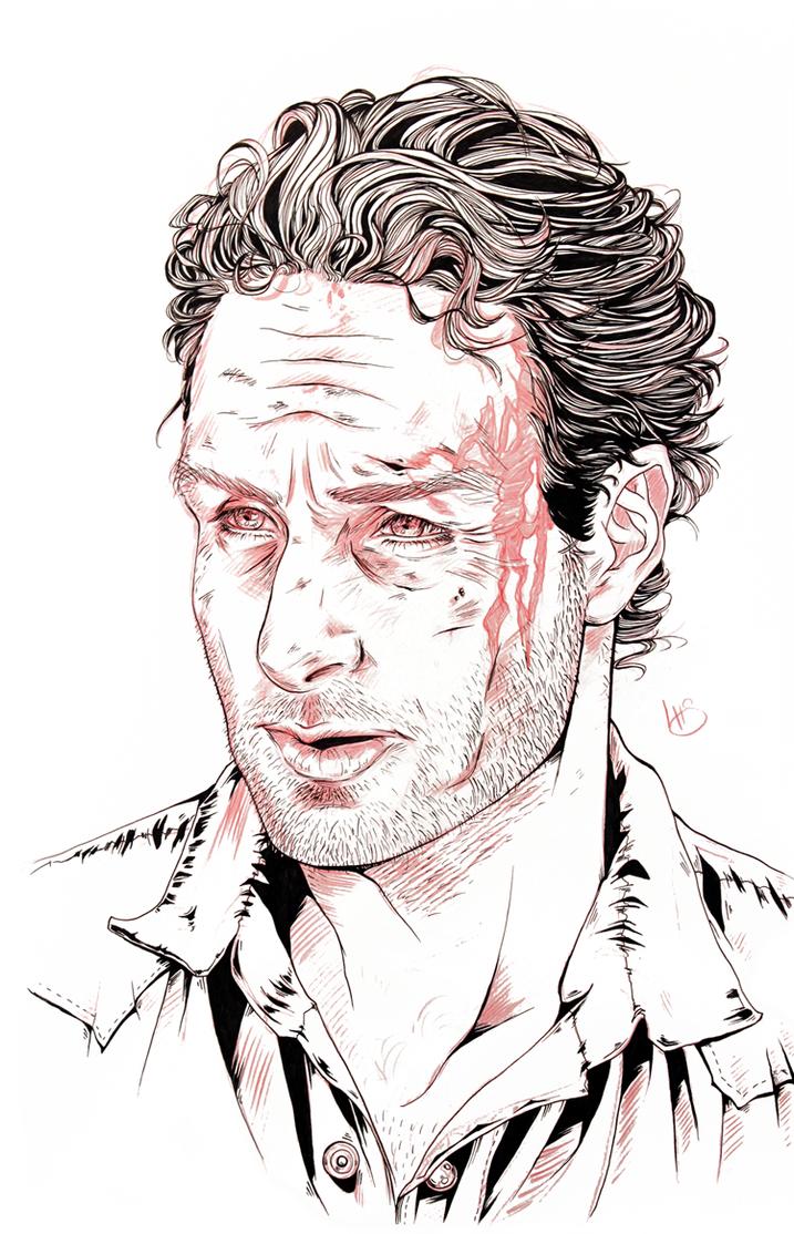 Rick Grimes by Nunar