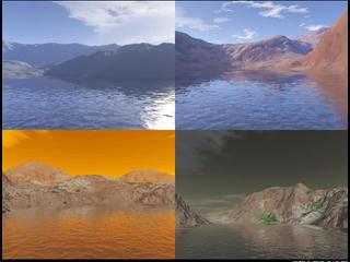Terragen Waterscape Works Mix by KannushiLink