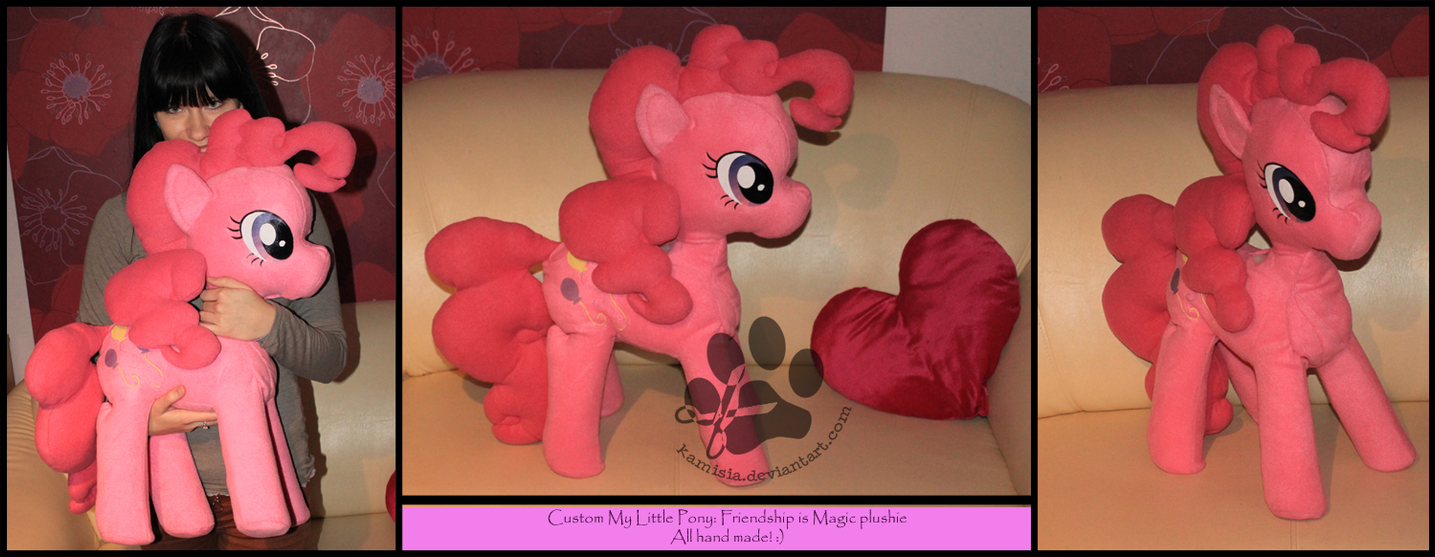 + Pinkie Pie Plush + by Kamisia