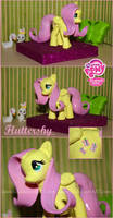+ Fluttershy Custom Figurine + by Kamisia