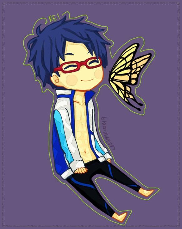 Free!: Rei by baenana