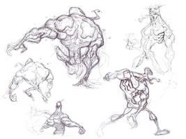 Venom Sketches 3 by spundman