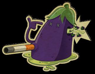 eggplant shot by spundman
