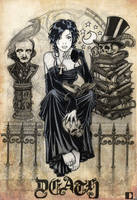 Death sketch by spundman