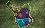 eggplant drink