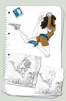 Jump girl.... by spundman