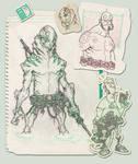 hellboy and Abe sketch