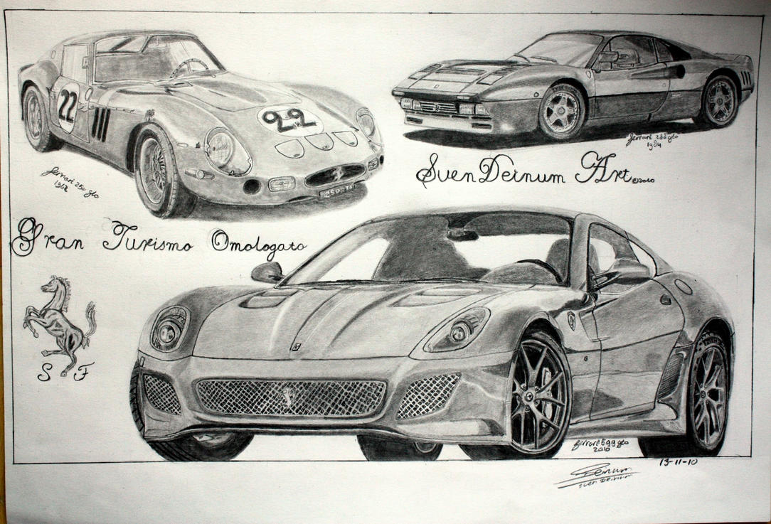 Ferrari GTO Trilogy