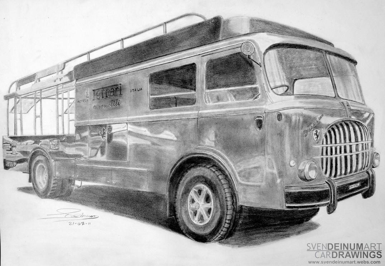 Fiat 682-RN2 Ferrari Transport