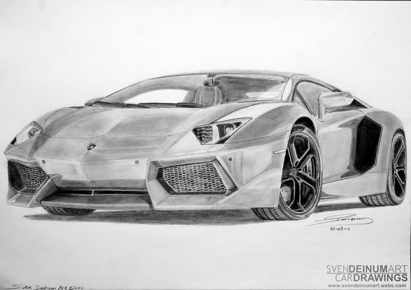Lamborghini Huracan Kleurplaat Lamborghini Aventador Lp700 4 By Sd1 Art On Deviantart