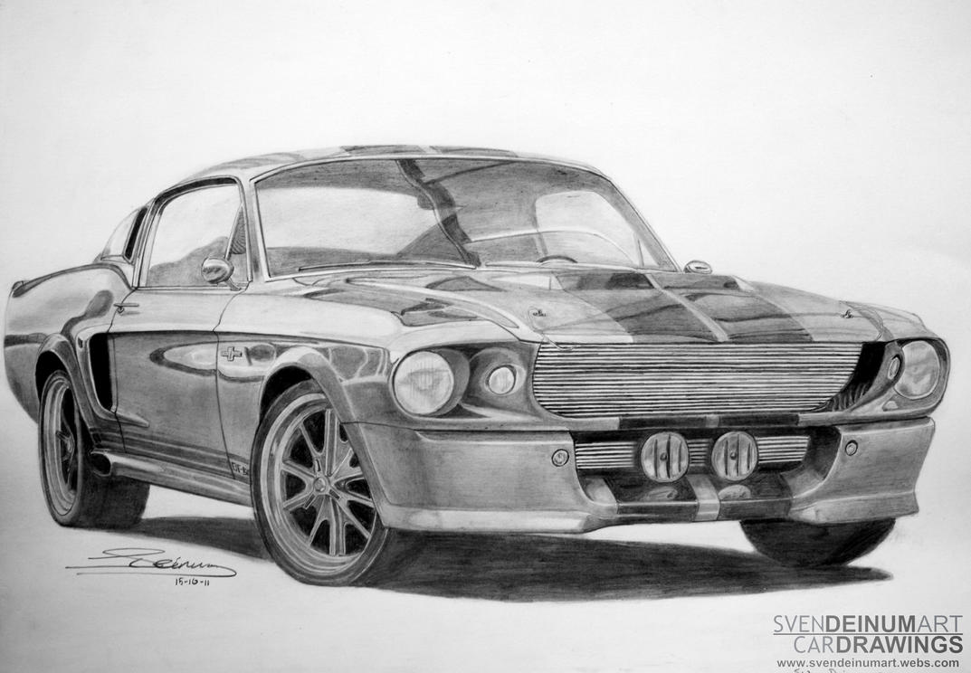 '67 Shelby GT500 Eleanor by SD1-art