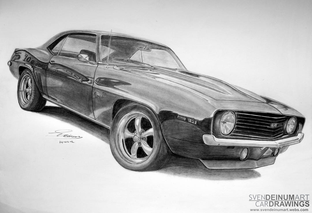 69 Chevrolet Camaro Ss By Sd1 Art On Deviantart