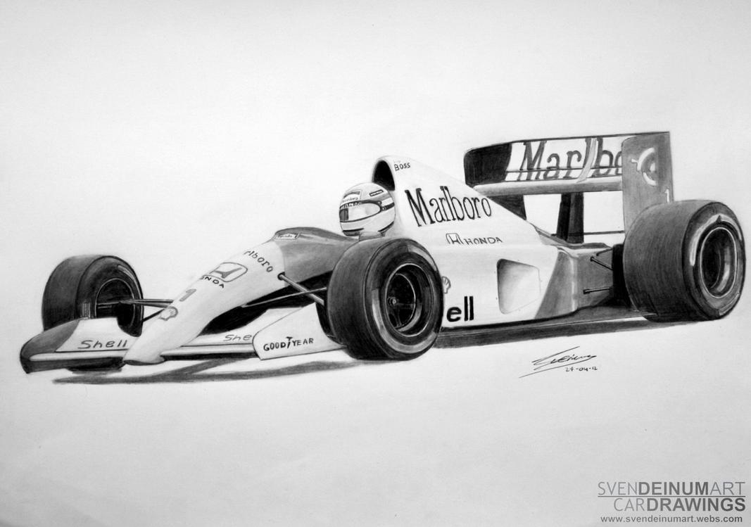 Ayrton Senna's Mclaren MP4-6