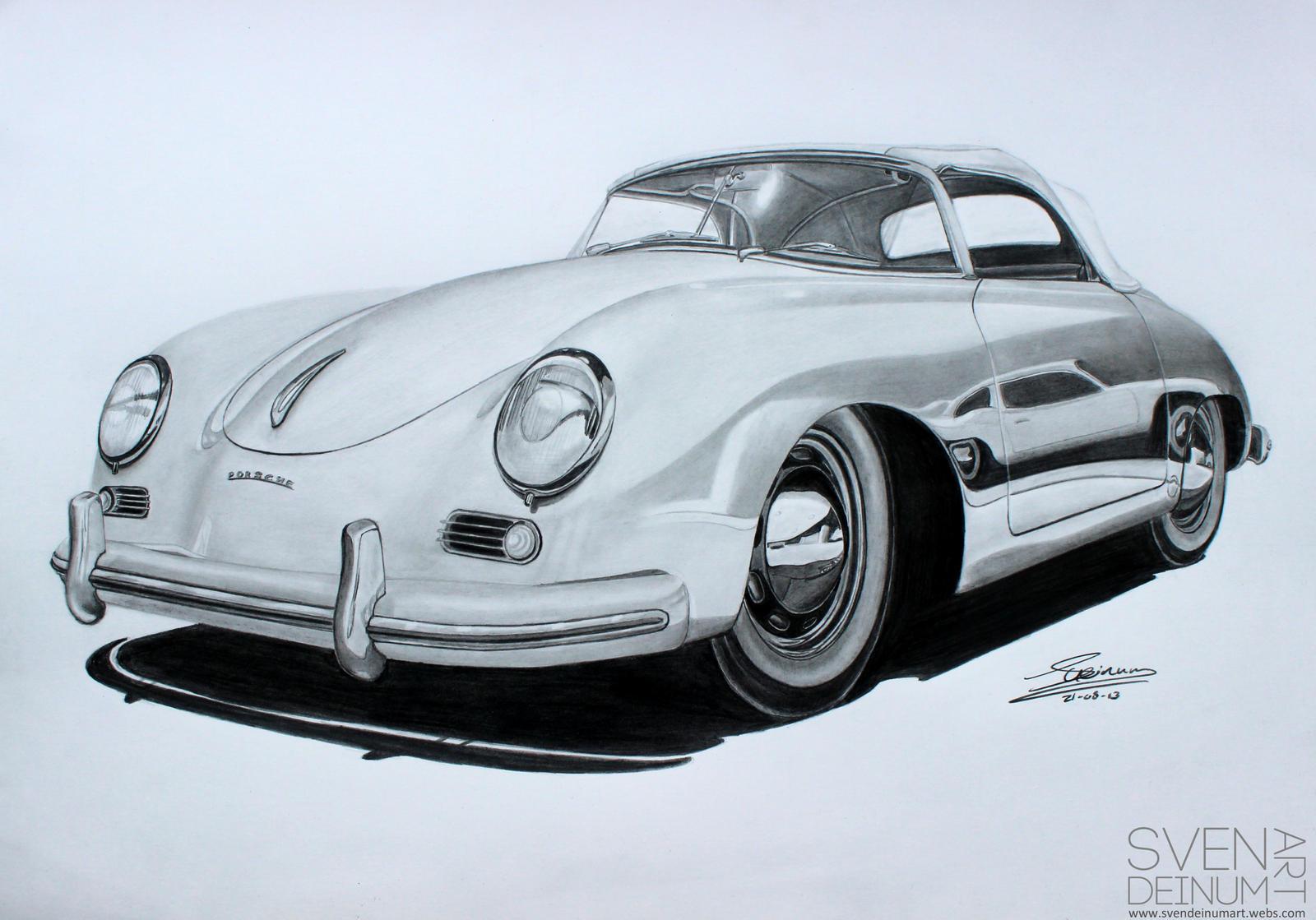 Porsche 356 Speedster by SD1-art