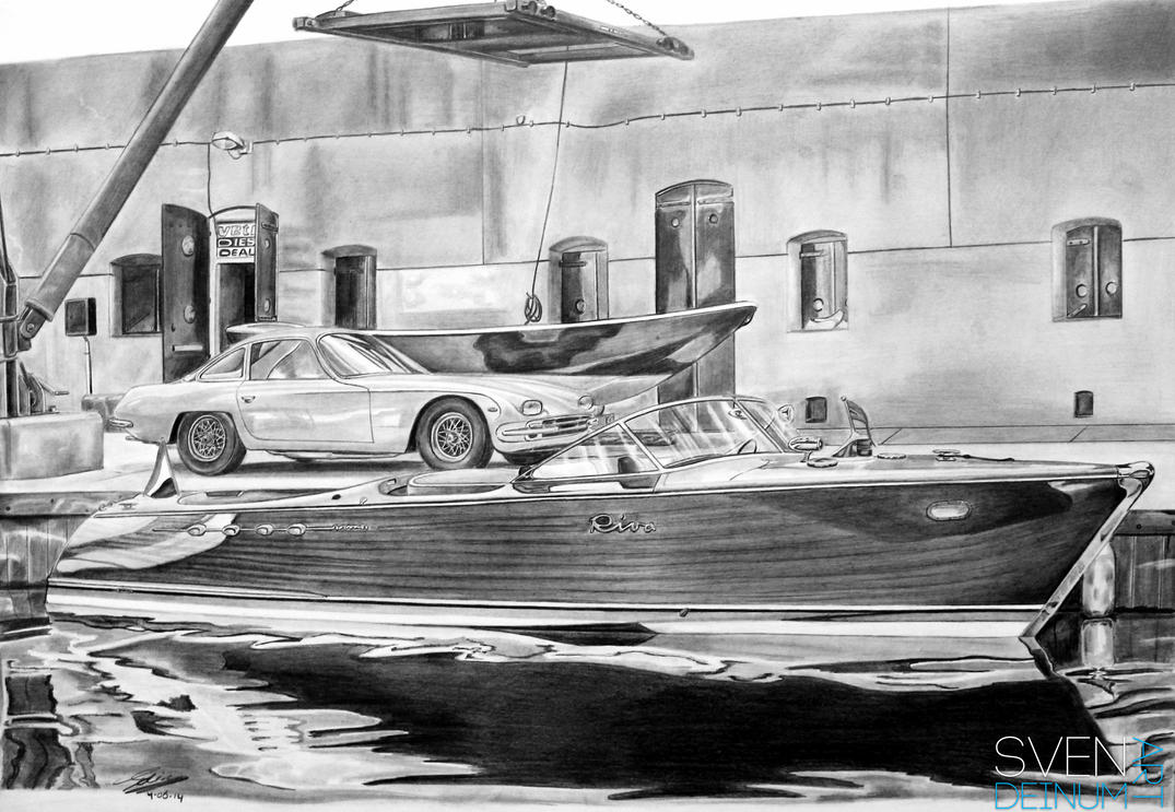 Riva Aquarama Lamborghini by SD1-art