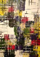 Akrylic nr. 1 2008 by saraknudsen