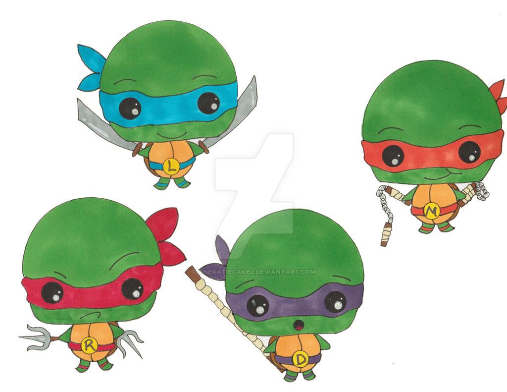 cute ninja turtle drawings wwwpixsharkcom images