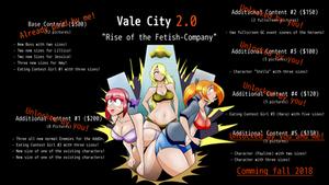 Edit Final: New artworks for Vale-City!