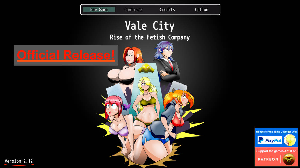 Vale City - Rise of the Fetish Company (Release!) by Narukami92