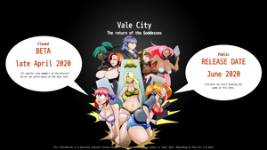 Official expected release date for Vale-City 3.0